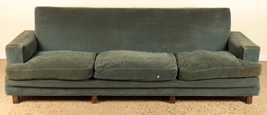 JACQUES ADNET UPHOLSTERED SOFA CIRCA 1940