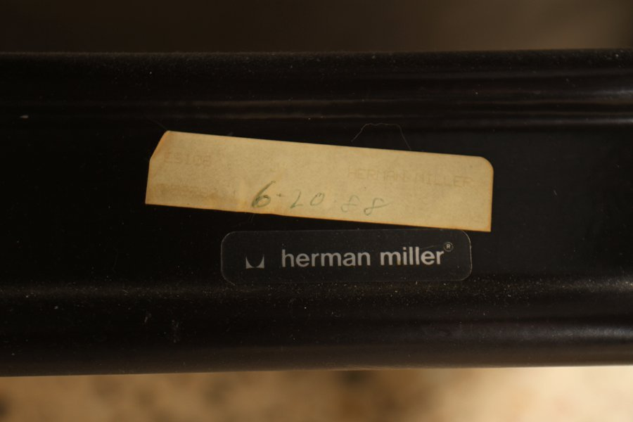 LABELED CHARLES EAMES/HERMAN MILLER LOUNGE CHAIR - 5