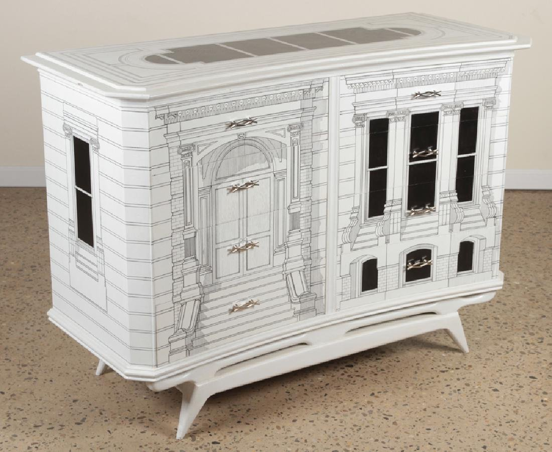 FORNASETTI STYLE 8 DRAWER COMMODE - 2