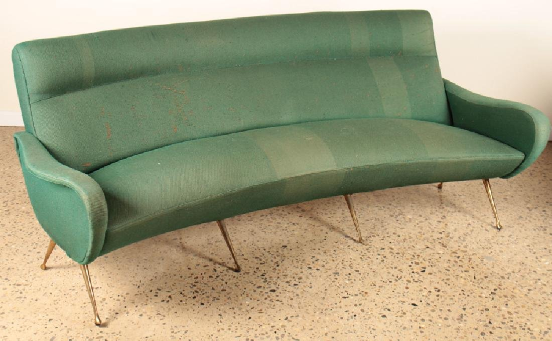 ITALIAN SETTEE MANNER OF MARCO ZANUSO C.1960