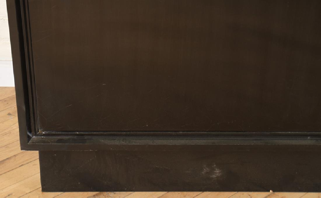 EBONIZED SIDEBOARD WITH WHITE MARBLE TOP C.1965 - 4