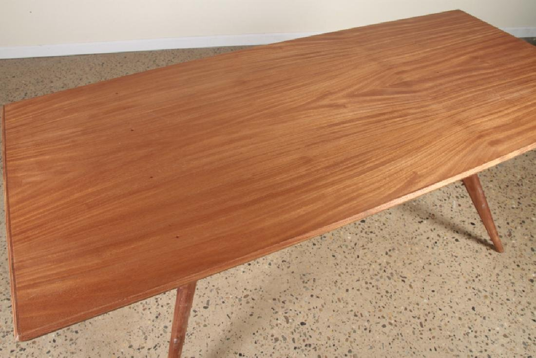 MAHOGANY DINING TABLE MANNER OF ICO PARISI C.1950 - 3