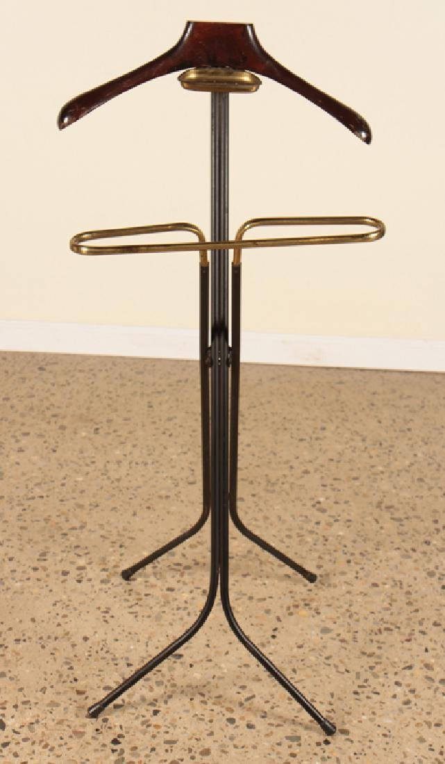 ITALIAN METAL AND BRASS VALET STAND CIRCA 1960 - 2