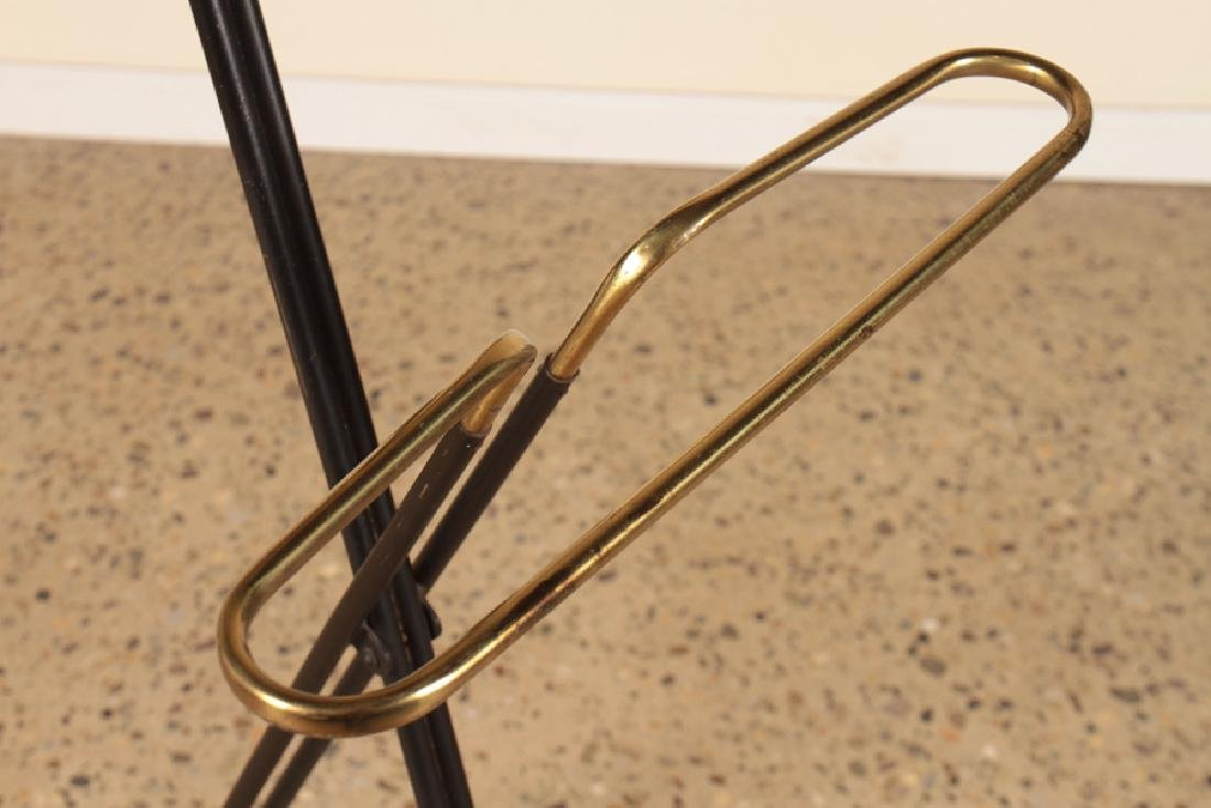 ITALIAN METAL AND BRASS VALET STAND CIRCA 1960 - 4