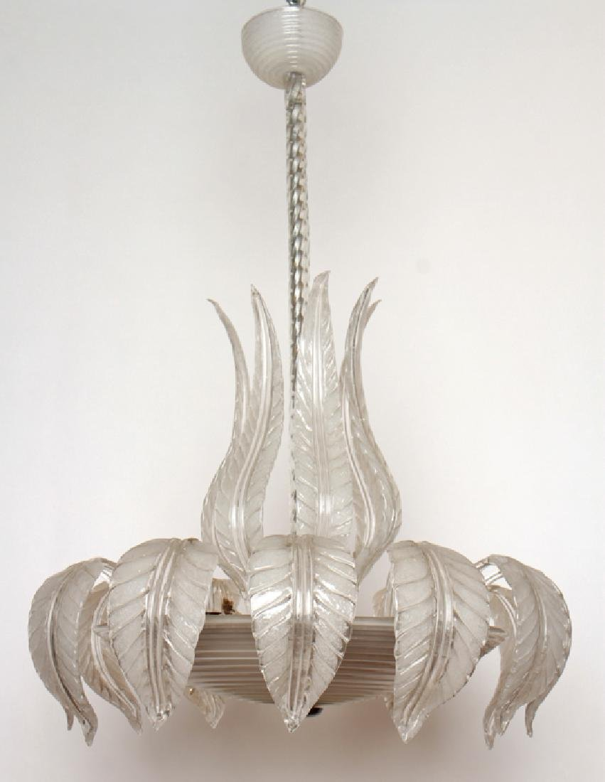 MURANO GLASS CHANDELIER CIRCA 1950