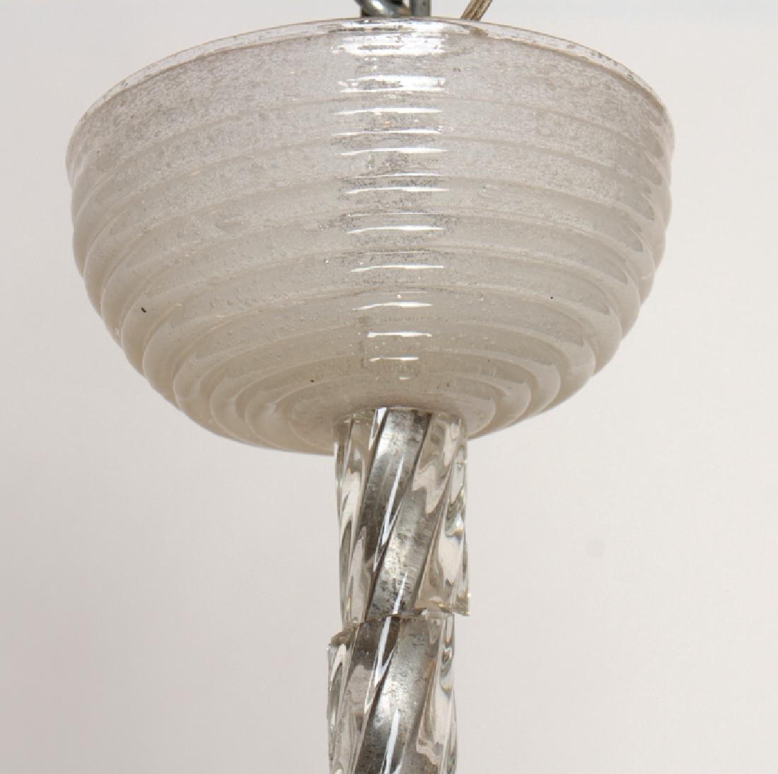 MURANO GLASS CHANDELIER CIRCA 1950 - 2