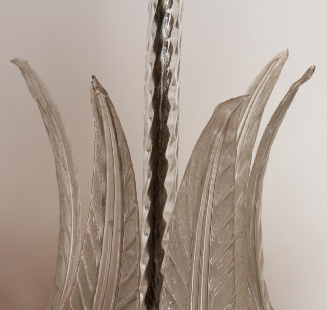 MURANO GLASS CHANDELIER CIRCA 1950 - 3