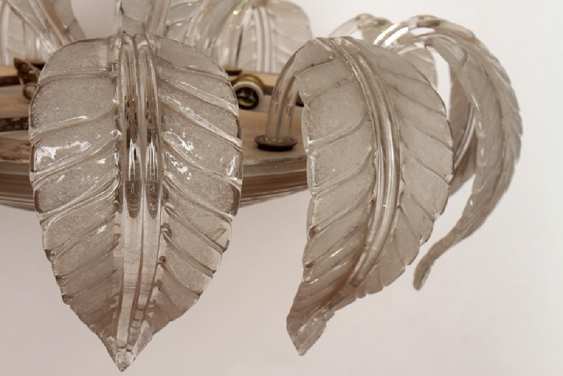 MURANO GLASS CHANDELIER CIRCA 1950 - 5