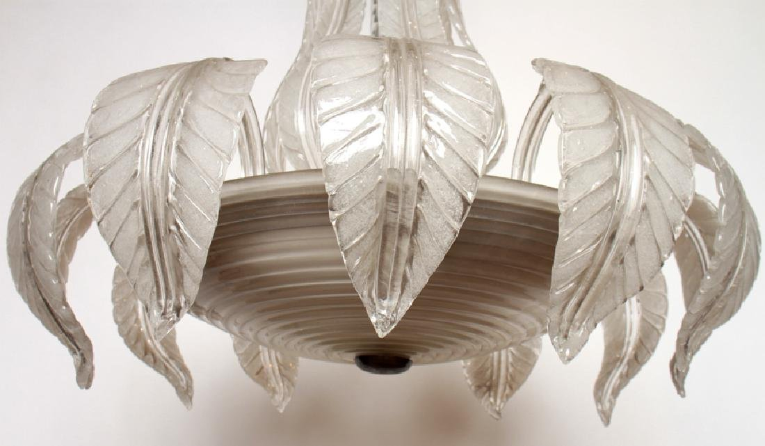 MURANO GLASS CHANDELIER CIRCA 1950 - 6