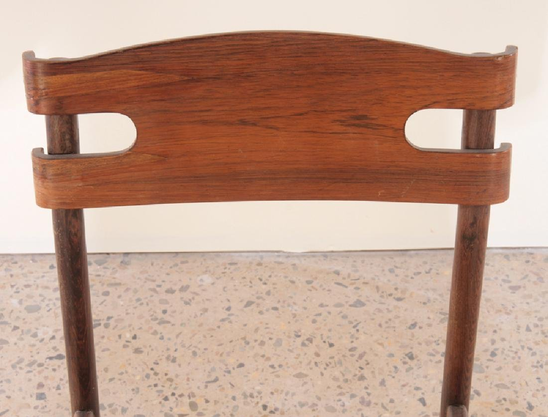 SET OF 6 ITALIAN ROSEWOOD DINING CHAIRS C.1960 - 4