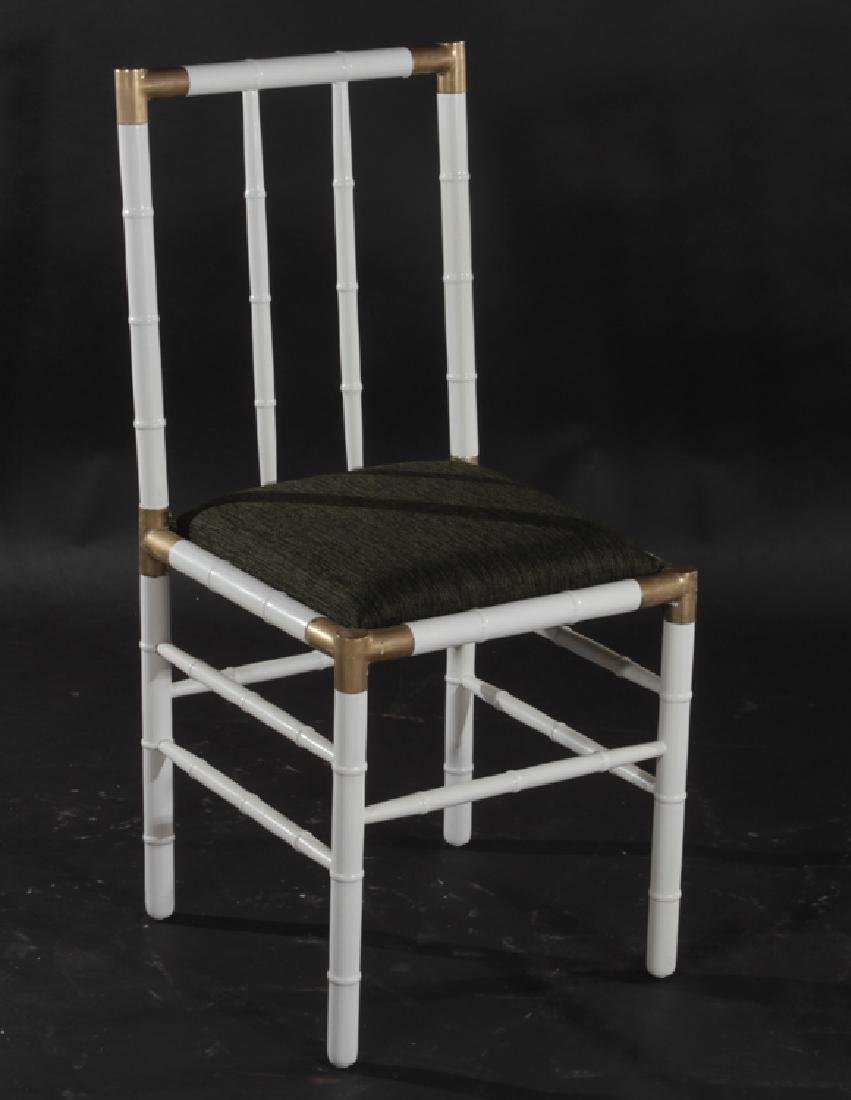SET 4 BILLY HAINES STYLE DINING CHAIRS CIRCA 1970 - 2
