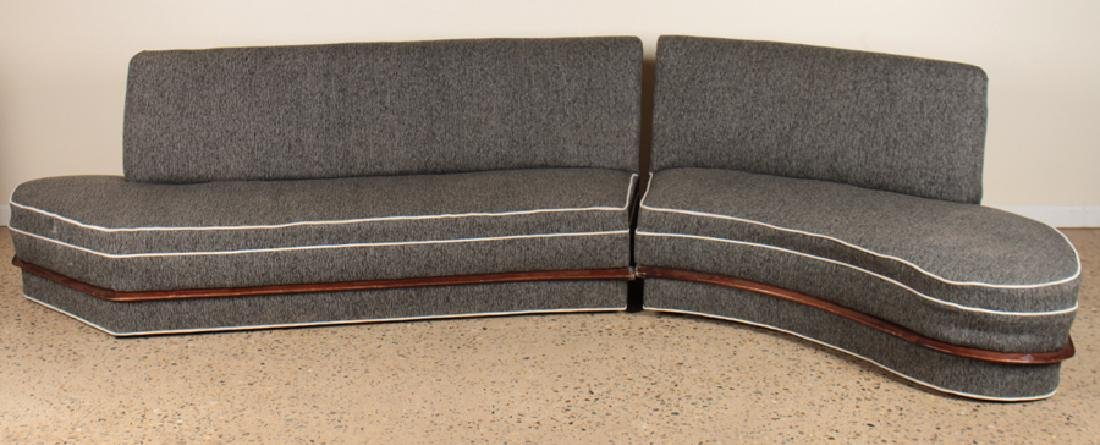 UPHOLSTERED ENGLANDER AND BONTA SOFA C.1960