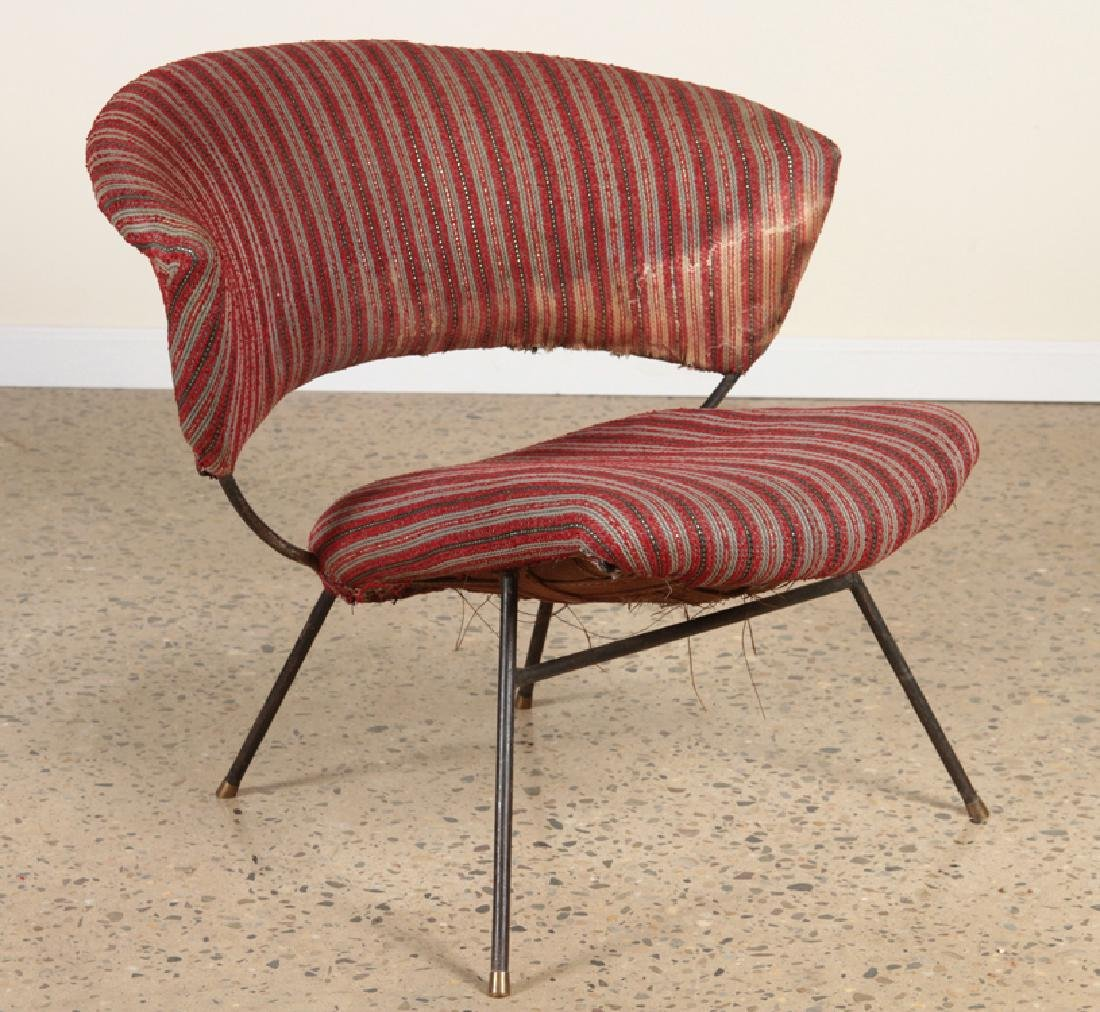 PAIR OF ITALIAN CHAIRS IN THE MANNER OF BBPR 1960 - 2