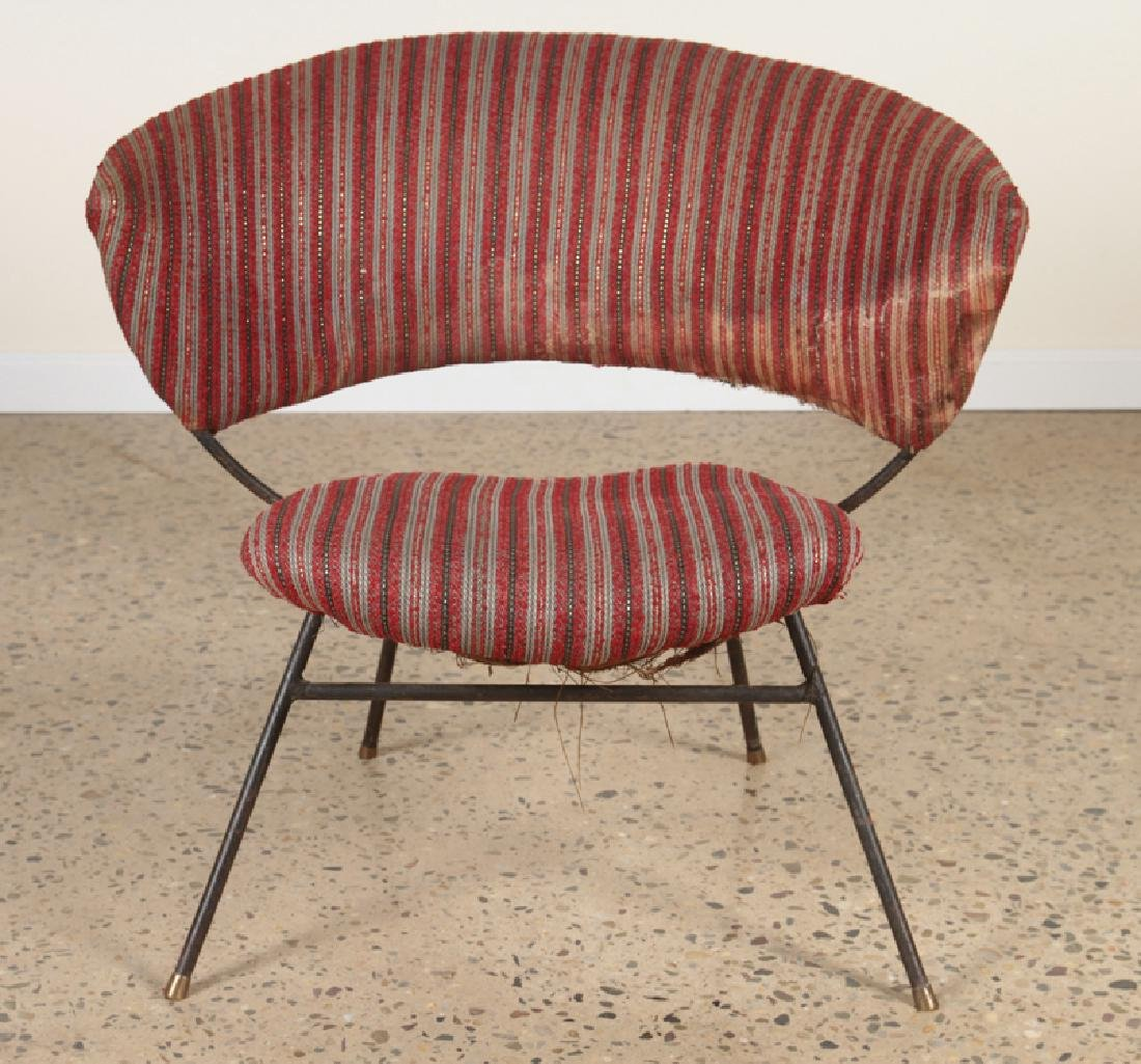 PAIR OF ITALIAN CHAIRS IN THE MANNER OF BBPR 1960 - 3