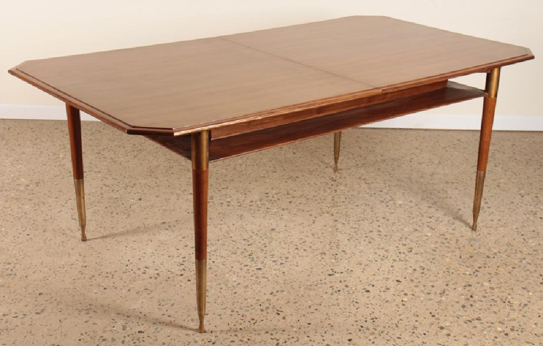 MID CENTURY MODERN DINING TABLE CIRCA 1960