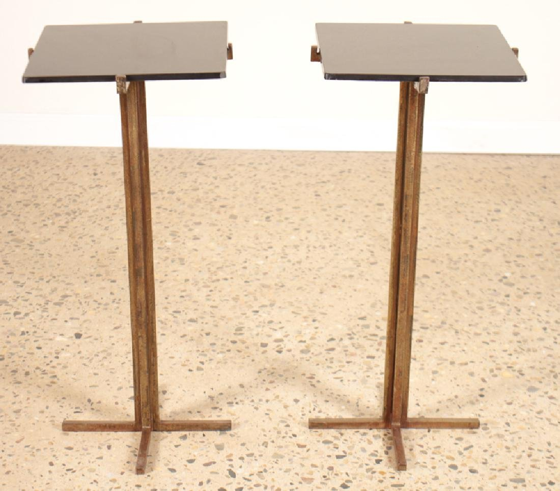 PAIR JEAN-MICHEL FRANK STYLE SIDE TABLES
