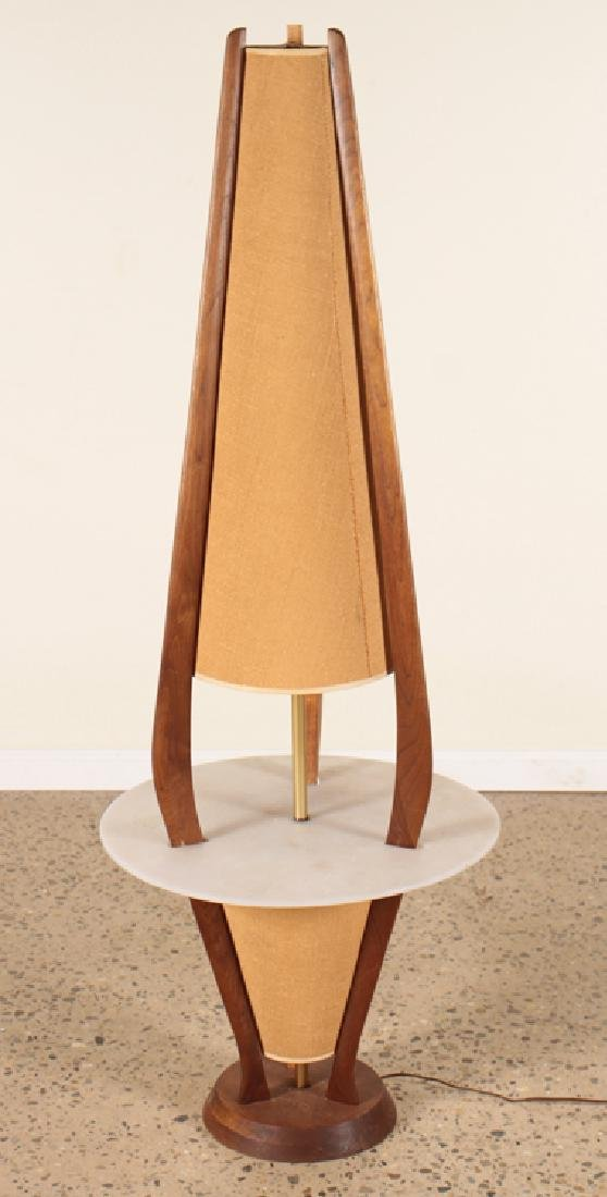 A MID CENTURY MODERN LAMP TABLE