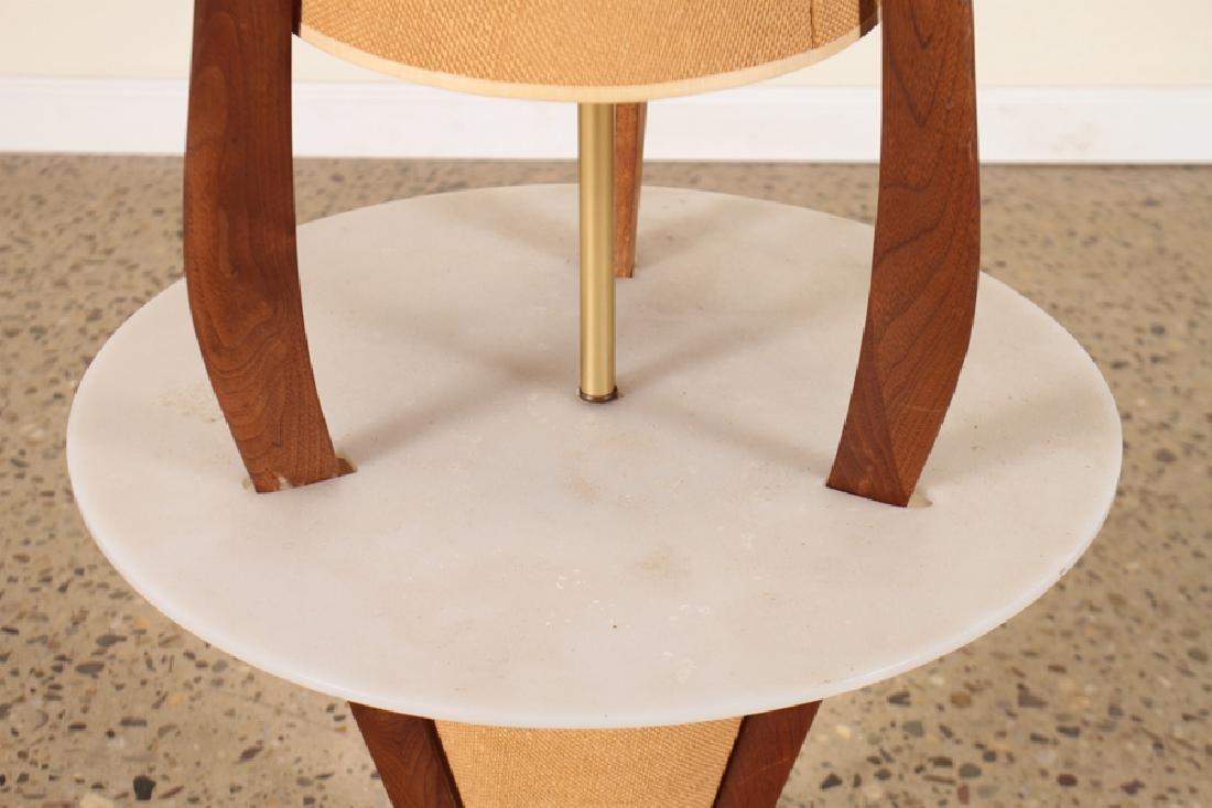 A MID CENTURY MODERN LAMP TABLE - 3