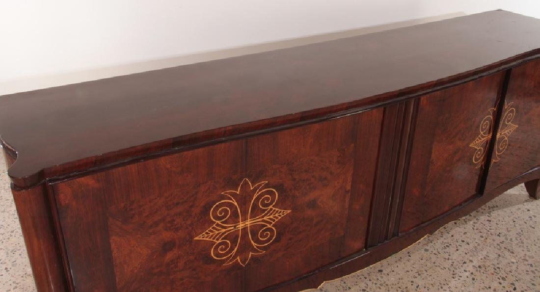 HIGH QUALITY LARGE FRENCH ROSEWOOD SIDEBOARD 1940 - 3