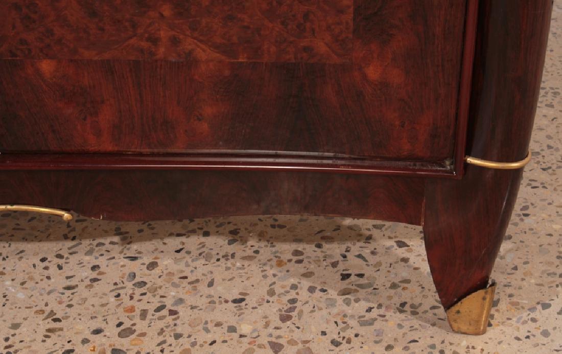JULES LELEU STYLE FRENCH ROSEWOOD SIDEBOARD C1940 - 6