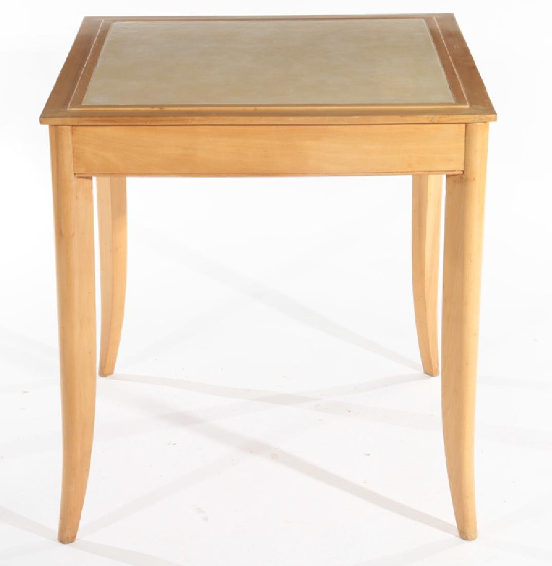 RENE PROU (ATTR.) FRENCH SYCAMORE GAMES TABLE
