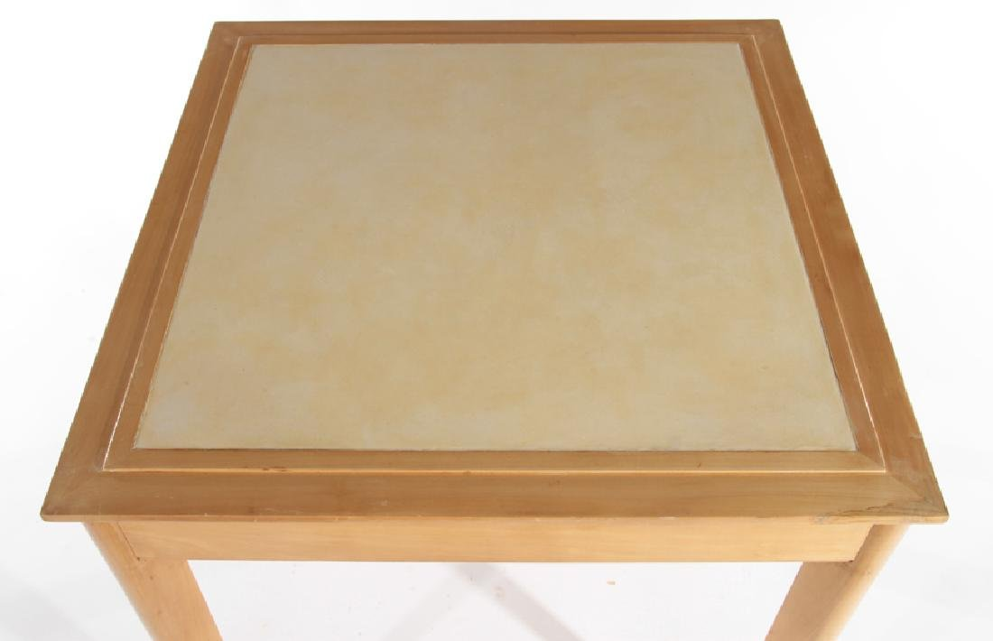 RENE PROU (ATTR.) FRENCH SYCAMORE GAMES TABLE - 2