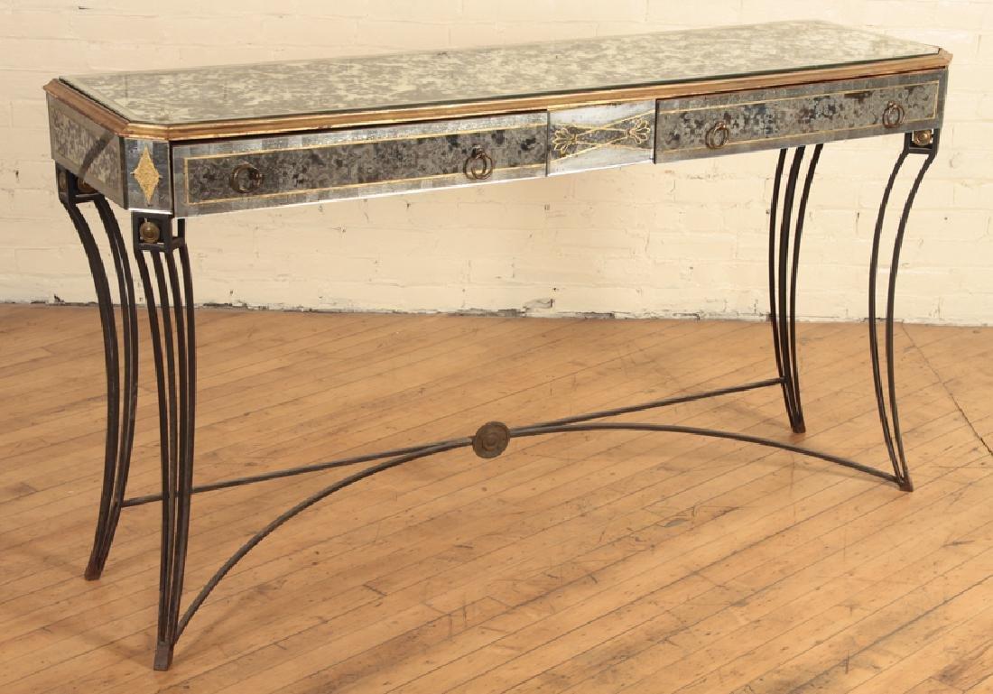 UNUSUAL JANSEN CONSOLE TABLE C.1940 - 2
