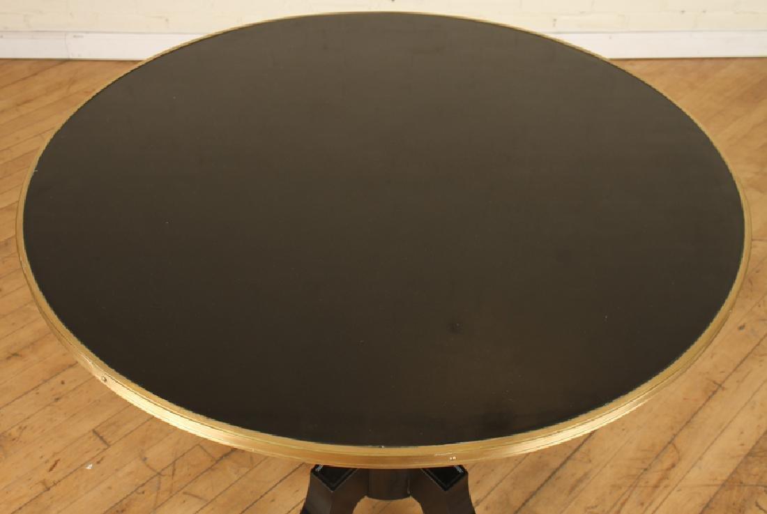 PAIR REGENCY STYLE TABLES MANNER OF JANSEN C.1950 - 3