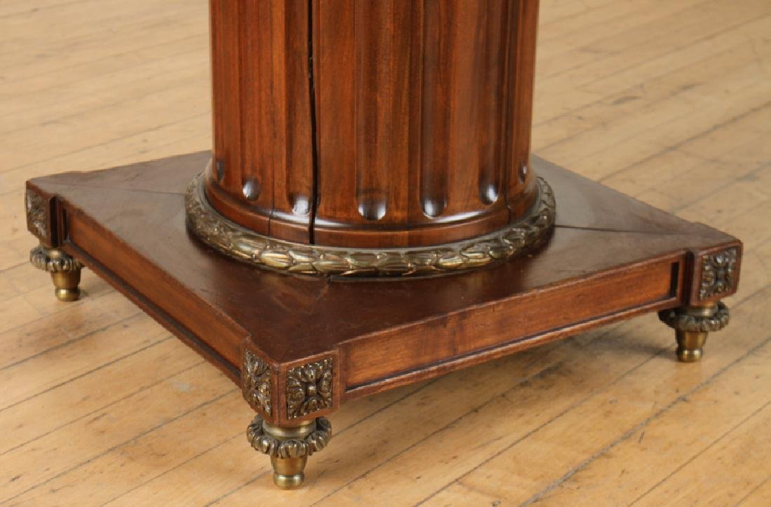 FRENCH SATINWOOD MAHOGANY DINING TABLE C.1930 - 6