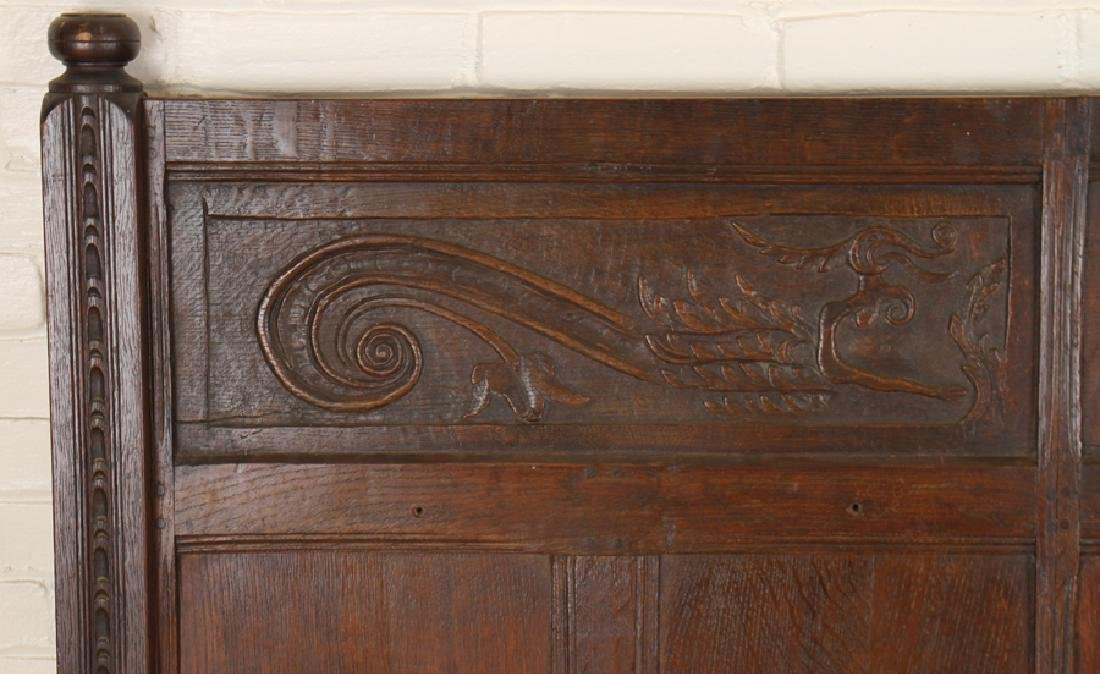 ANTIQUE CARVED OAK PANELS 18TH CENTURY - 10