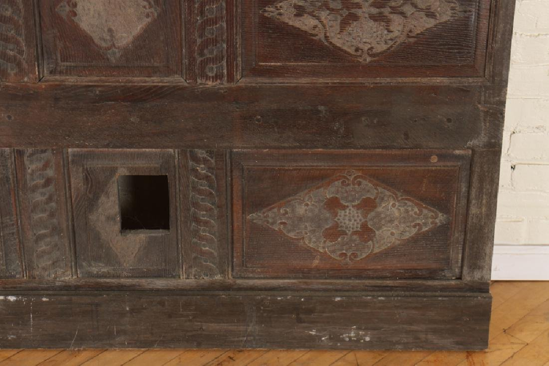 ANTIQUE CARVED OAK PANELS 18TH CENTURY - 4