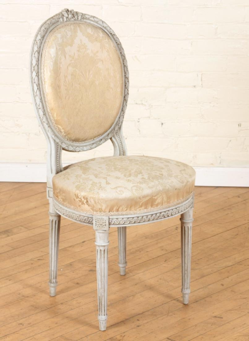 SET OF FOUR LOUIS XVI STYLE SIDE CHAIRS C. 1920 - 2