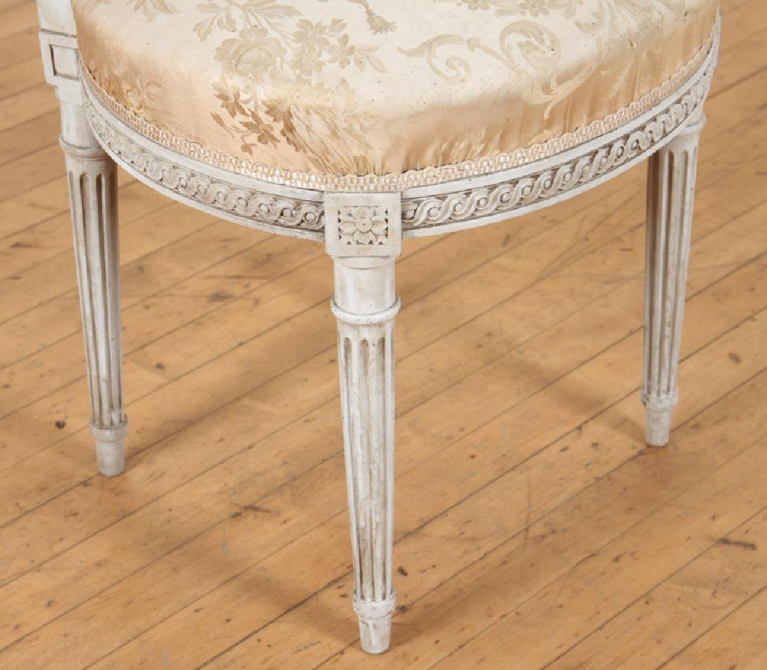 SET OF FOUR LOUIS XVI STYLE SIDE CHAIRS C. 1920 - 6