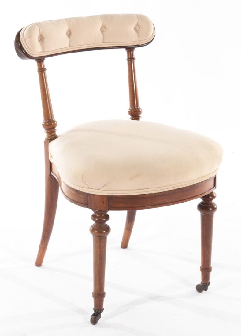SET OF 4 ENGLISH ROSEWOOD CHAIRS CIRCA 1860 - 2