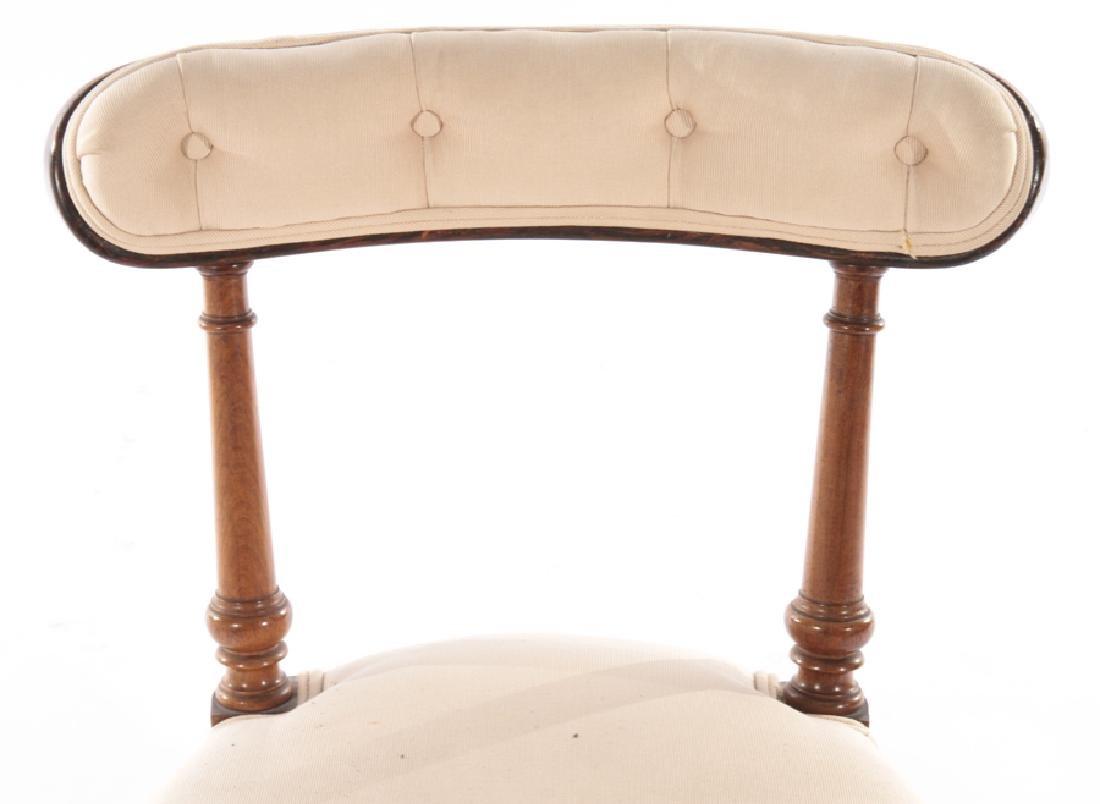 SET OF 4 ENGLISH ROSEWOOD CHAIRS CIRCA 1860 - 4