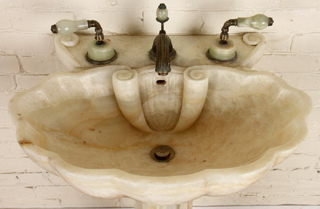 SHERLE WAGNER ONYX SHELL FORM SINK - 2
