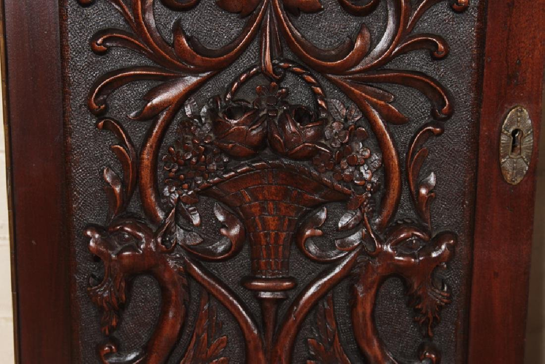 COLLECTION OF 4 ANTIQUE WALNUT CARVINGS C.1880 - 3