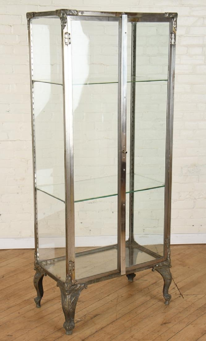 NICKEL OVER BRONZE VITRINE CIRCA 1920