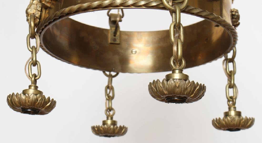 PAIR OF SIGNED CALDWELL CHANDELIERS - 6