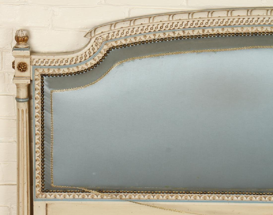 ITALIAN PAINTED AND POLYCHROMED BED C. 1950 - 2