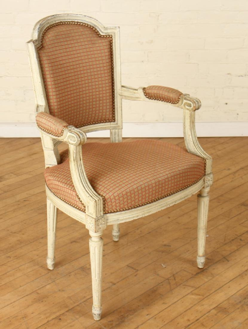 SET 6 LOUIS XVI STYLE DINING CHAIRS CIRCA 1940. - 3
