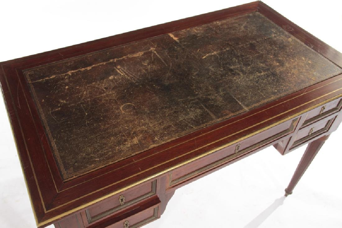 19TH CENT. FRENCH DIRECTOIRE STYLE MAHOGANY DESK - 3