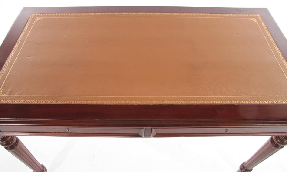 LOUIS XVI STYLE WRITING DESK LEATHER TOP - 3