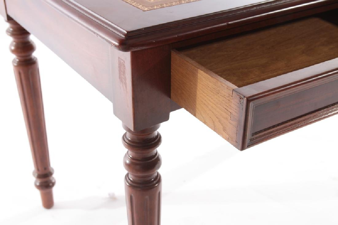 LOUIS XVI STYLE WRITING DESK LEATHER TOP - 4