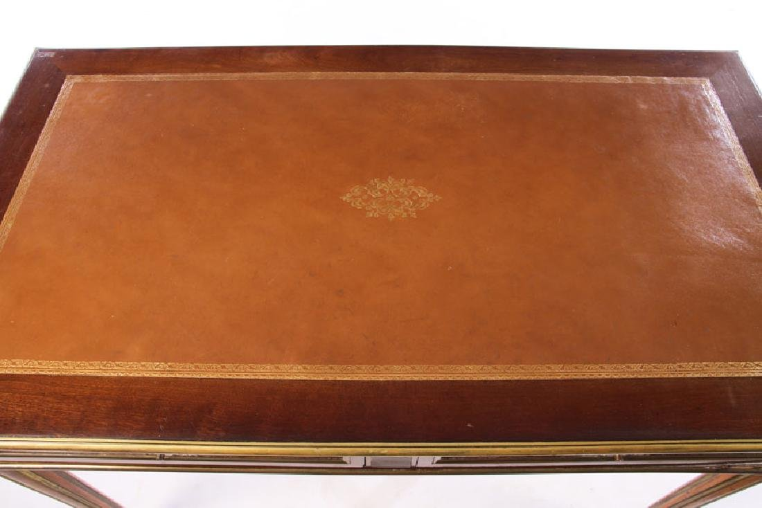FRENCH DIRECTOIRE WRITING DESK INSET LEATHER 1930 - 3