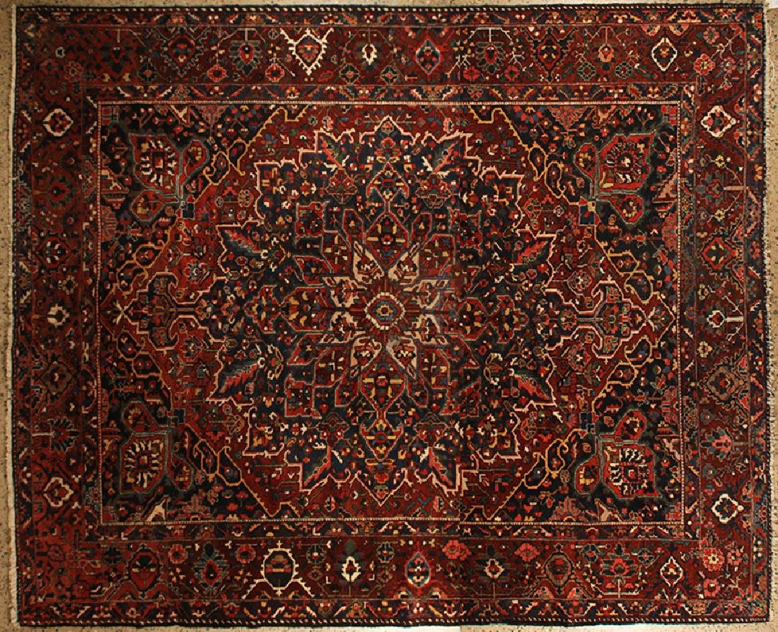 SEMI ANTIQUE PERSIAN BAKHTIARI RUG