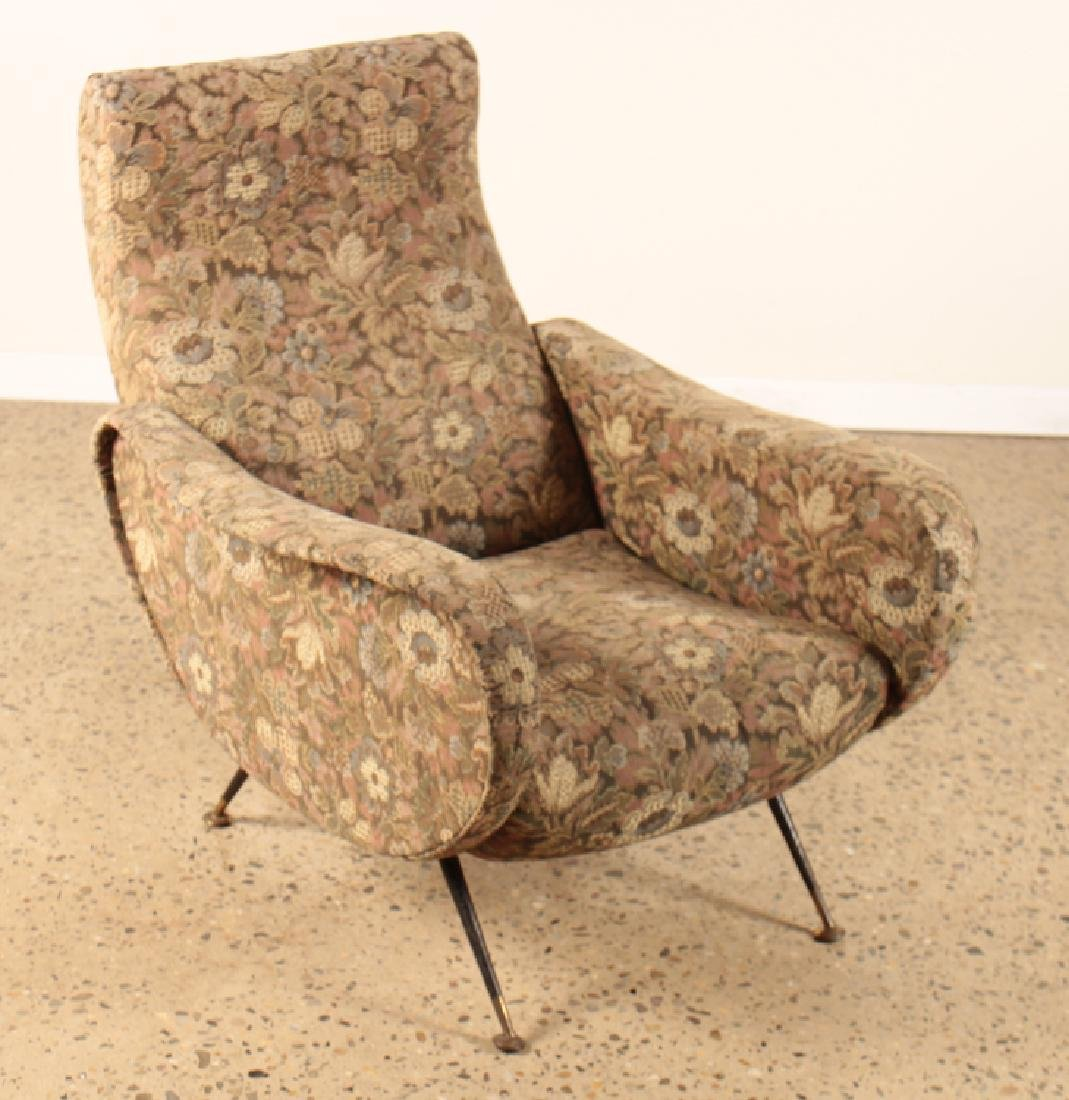 PAIR CLUB CHAIRS MANNER OF MARCO ZANUSO C.1960 - 2