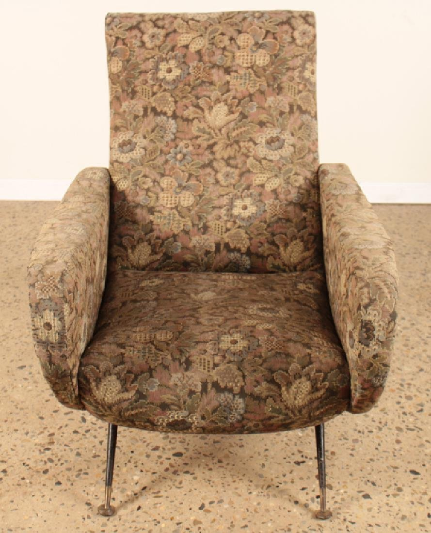 PAIR CLUB CHAIRS MANNER OF MARCO ZANUSO C.1960 - 3