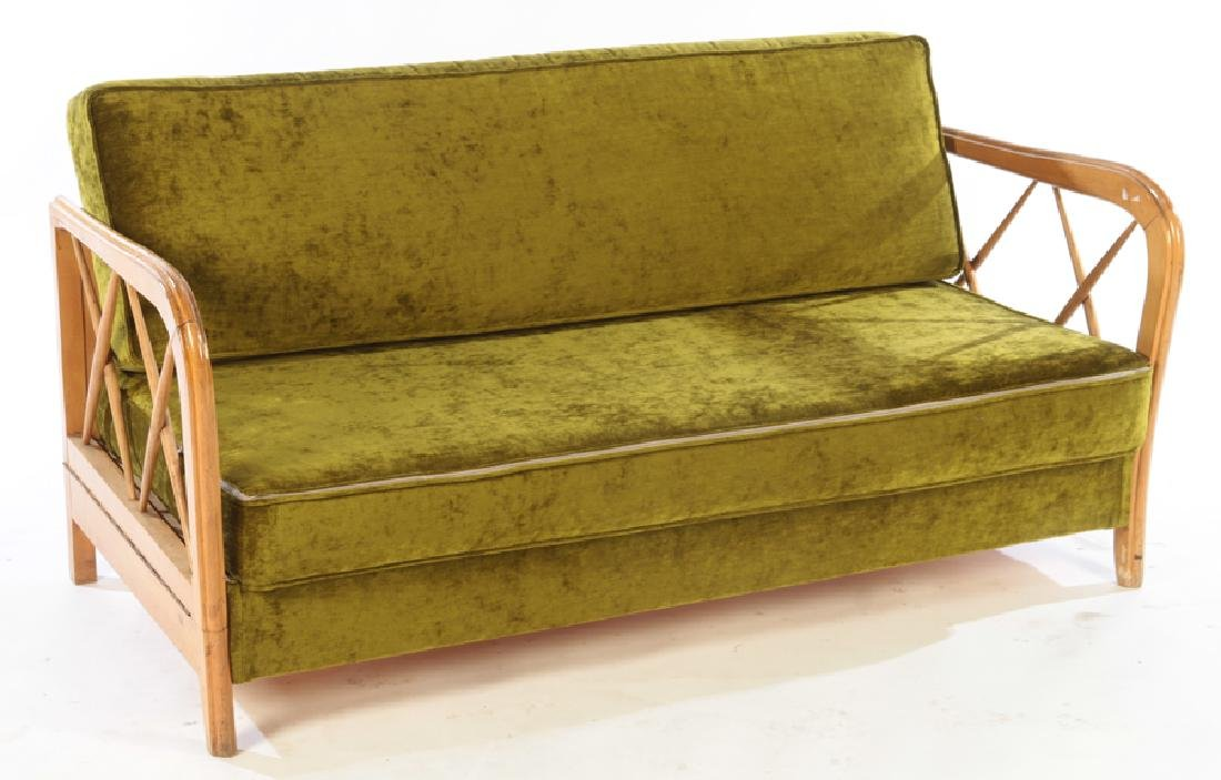 PAOLO BUFFA MID CENTURY MODERN SOFA DAYBED C.1960
