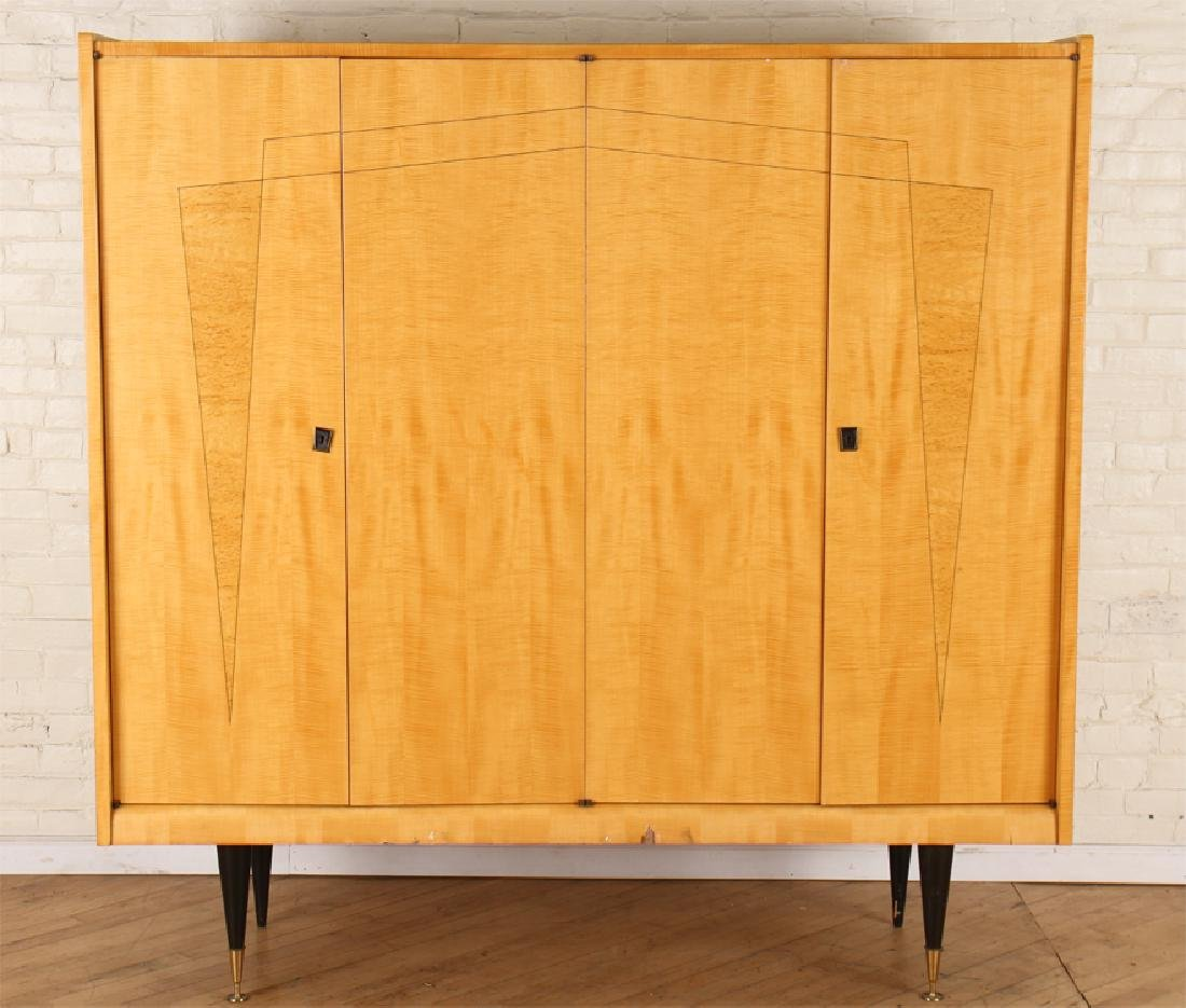 SYCAMORE FOUR DOOR CREDENZA EBONIZED LEGS
